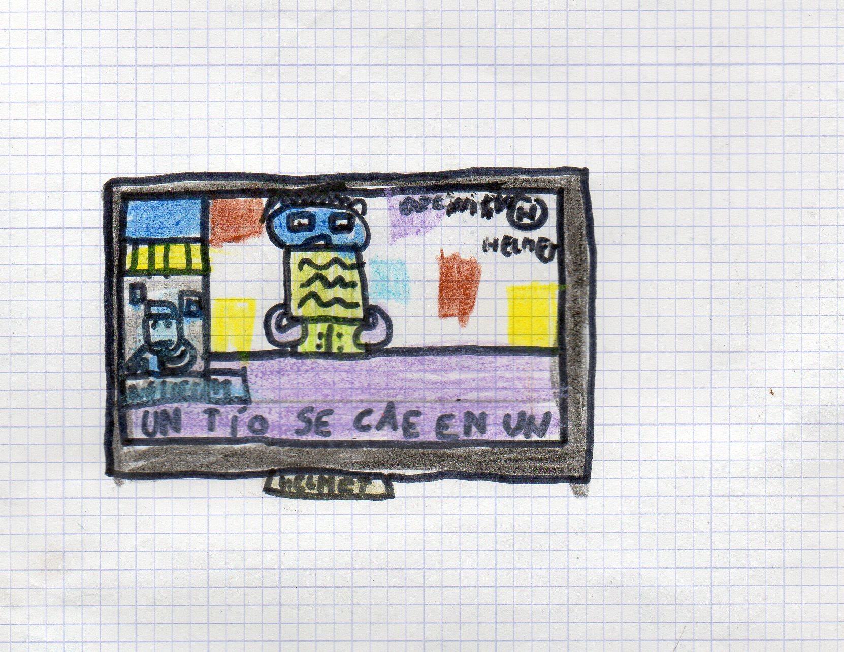 Este es otro de los dibujos.